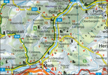 ausztria autós térkép Ausztria térképe ausztria autós térkép